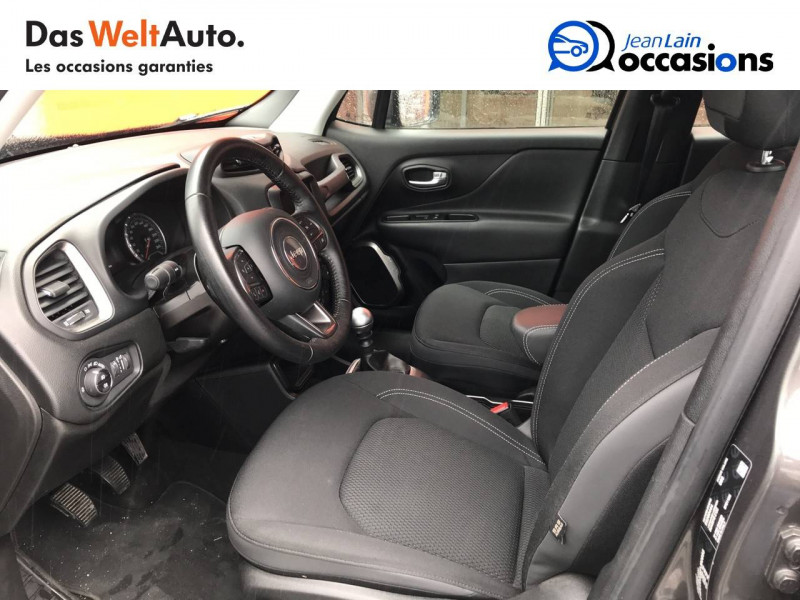 Jeep Renegade Renegade 1.6 l MultiJet 120 ch BVM6 Limited 5p Gris occasion à Sallanches - photo n°11