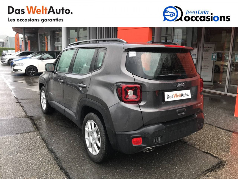 Jeep Renegade Renegade 1.6 l MultiJet 120 ch BVM6 Limited 5p Gris occasion à Sallanches - photo n°7