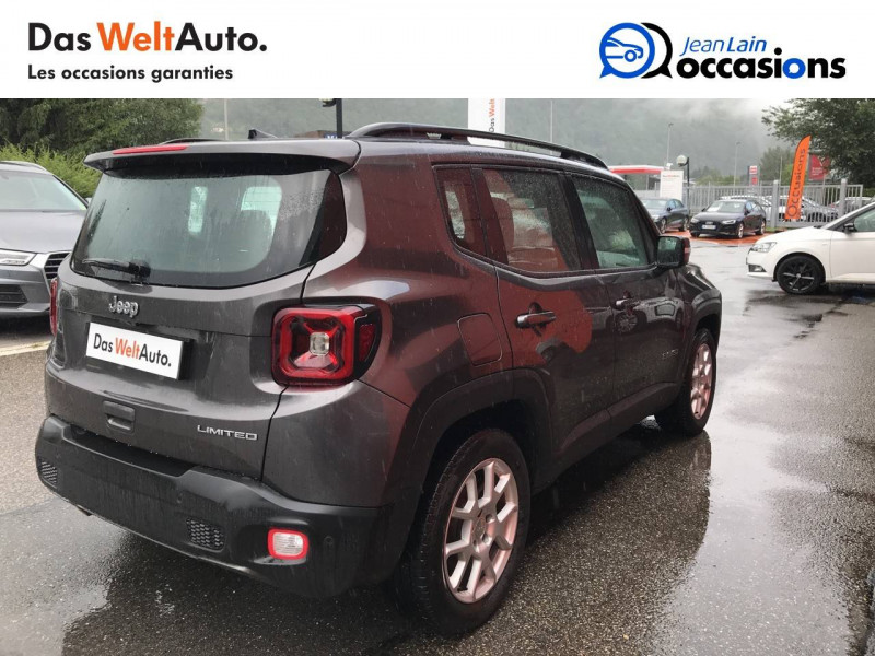 Jeep Renegade Renegade 1.6 l MultiJet 120 ch BVM6 Limited 5p Gris occasion à Sallanches - photo n°5