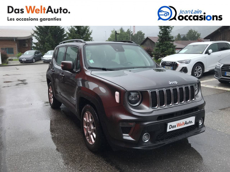 Jeep Renegade Renegade 1.6 l MultiJet 120 ch BVM6 Limited 5p Gris occasion à Sallanches - photo n°3