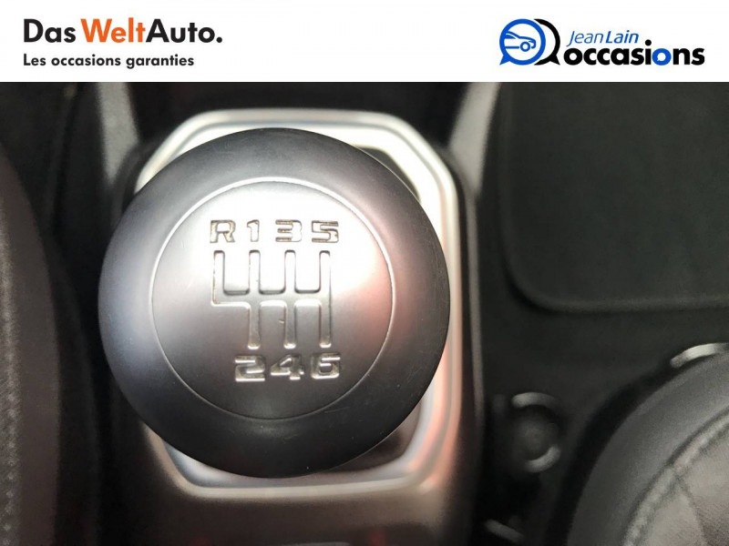 Jeep Renegade Renegade 1.6 l MultiJet 120 ch BVM6 Limited 5p Gris occasion à Sallanches - photo n°13