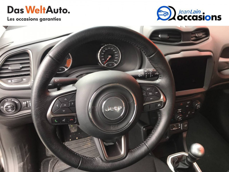Jeep Renegade Renegade 1.6 l MultiJet 120 ch BVM6 Limited 5p Gris occasion à Sallanches - photo n°12