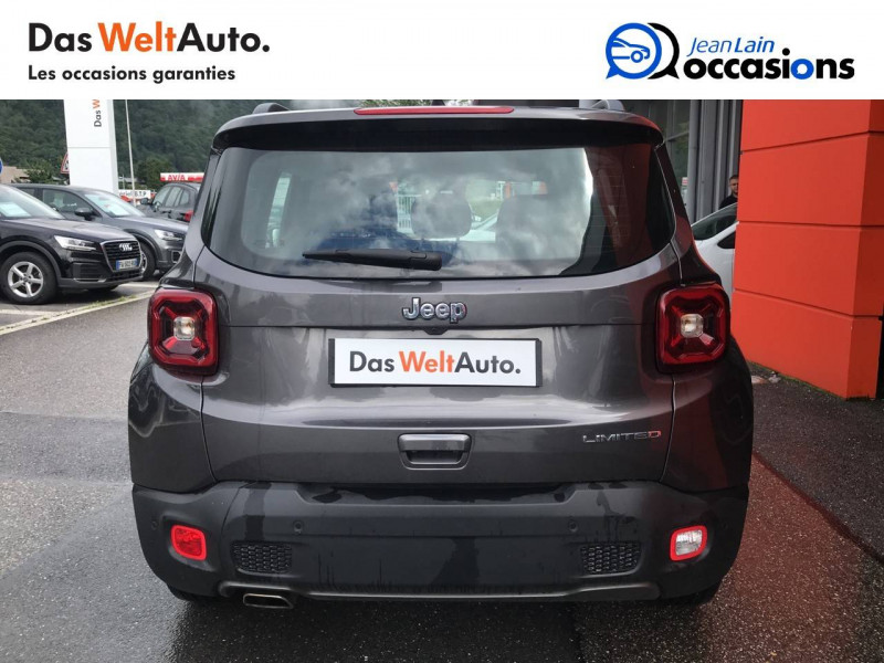 Jeep Renegade Renegade 1.6 l MultiJet 120 ch BVM6 Limited 5p Gris occasion à Sallanches - photo n°6