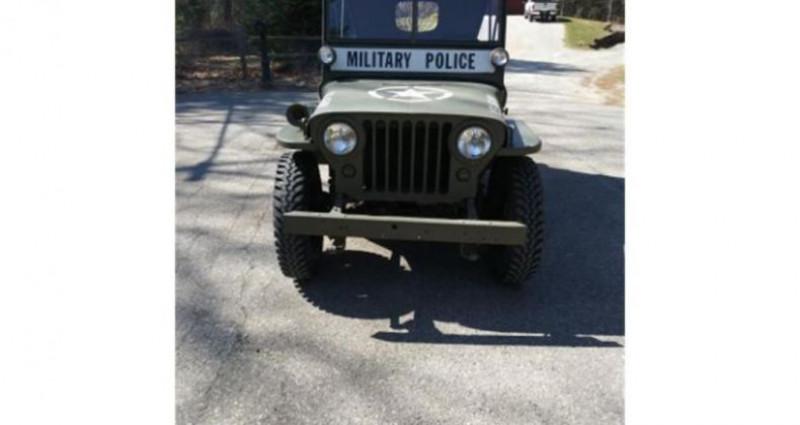 Jeep Willis M38 military police 1947 prix tout compris Vert occasion à PONTAULT COMBAULT - photo n°7