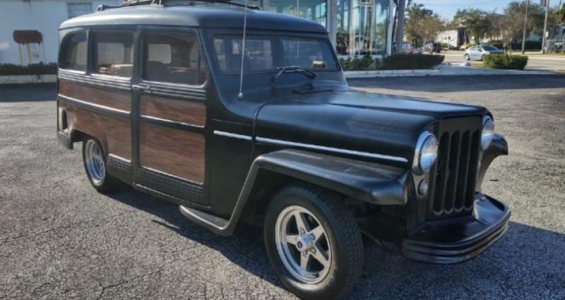 Jeep Willis SEDAN WOODY V8  occasion à Thiais