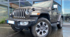 Jeep Wrangler 2.0 T 272CH OVERLAND COMMAND-TRAC BVA8 Gris à Grezac 17