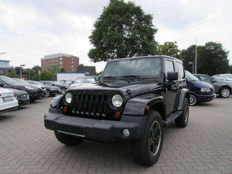 Jeep Wrangler 2.8 CRD 200 Sahara Black Edition Noir occasion à Beaupuy
