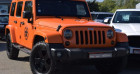 Jeep Wrangler 2.8 CRD 200 UNLIMITED SAHARA BVA Orange à VENDARGUES 34