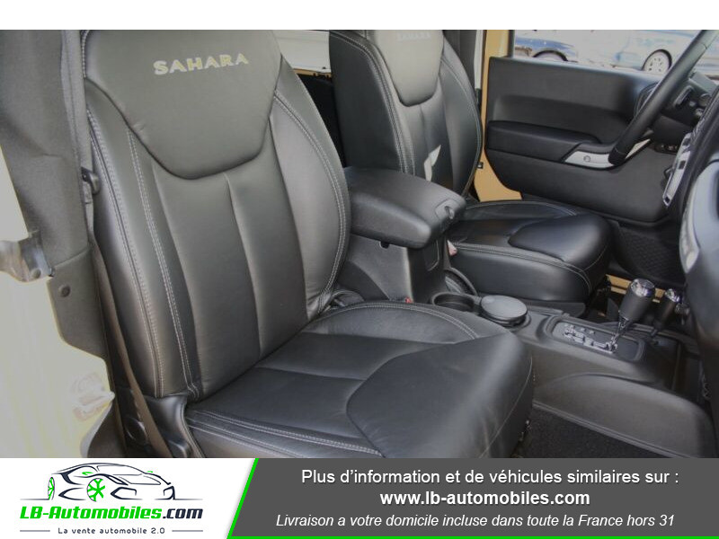 Jeep Wrangler 2.8 CRD Beige occasion à Beaupuy - photo n°7