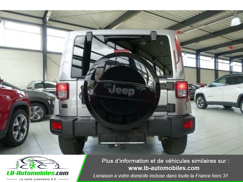 Jeep Wrangler 2.8 CRD Argent occasion à Beaupuy - photo n°8