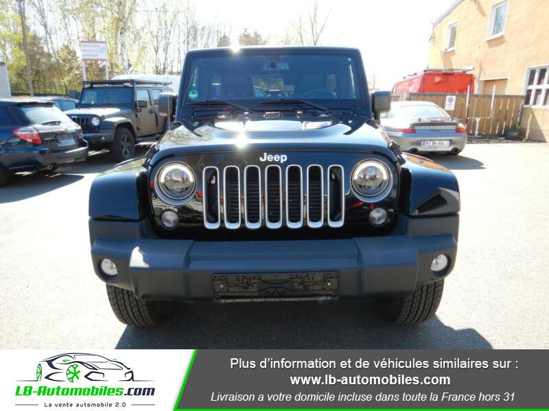 Jeep Wrangler 2.8 CRD Noir occasion à Beaupuy - photo n°4