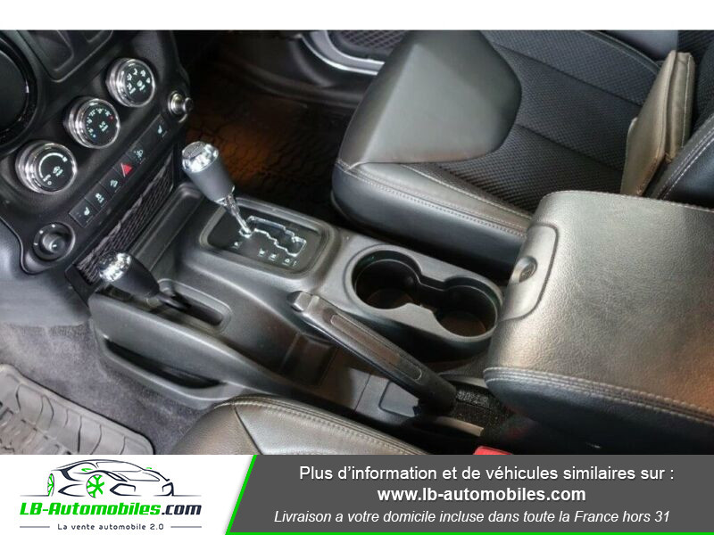 Jeep Wrangler 2.8 CRD Argent occasion à Beaupuy - photo n°13