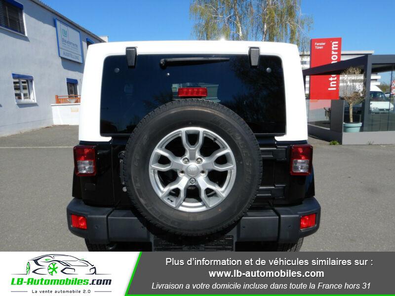 Jeep Wrangler 2.8 CRD Noir occasion à Beaupuy - photo n°9