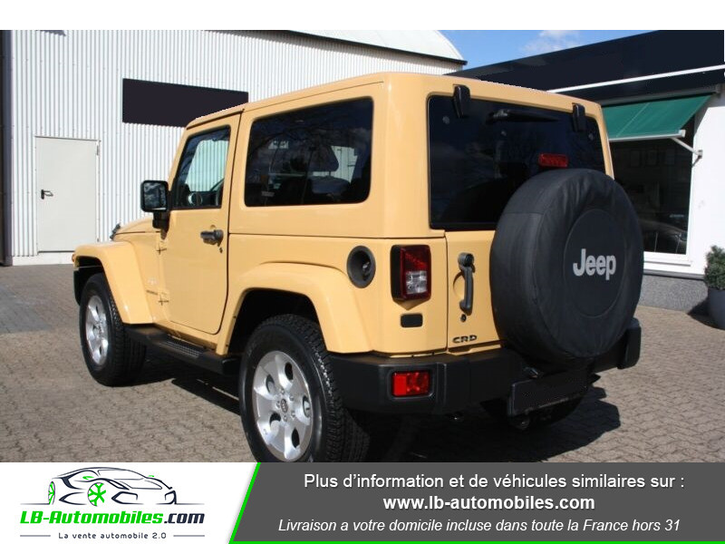 Jeep Wrangler 2.8 CRD Beige occasion à Beaupuy - photo n°3