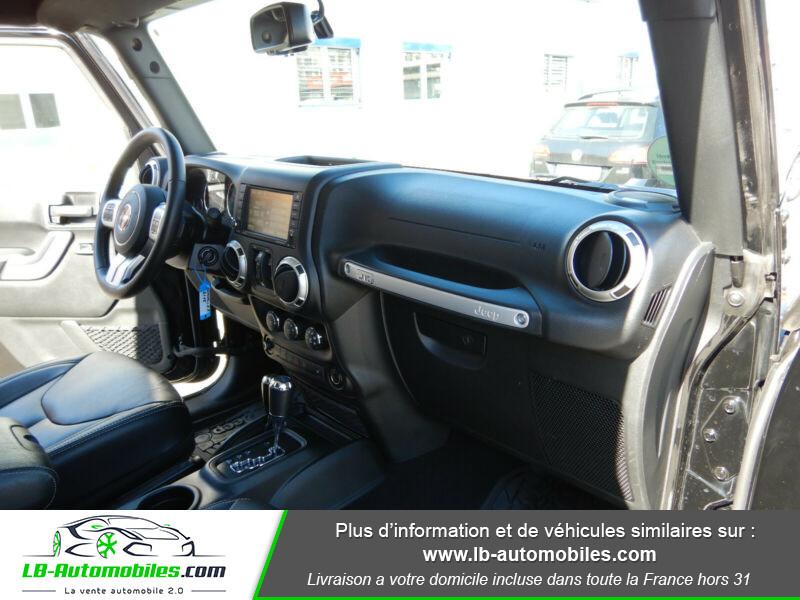 Jeep Wrangler 2.8 CRD Noir occasion à Beaupuy - photo n°11