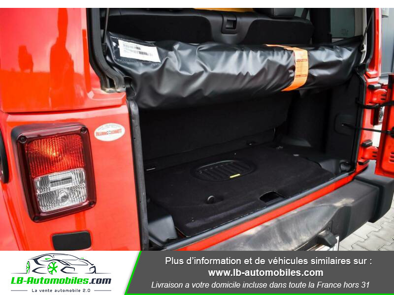 Jeep Wrangler 2.8 CRD Rouge occasion à Beaupuy - photo n°8