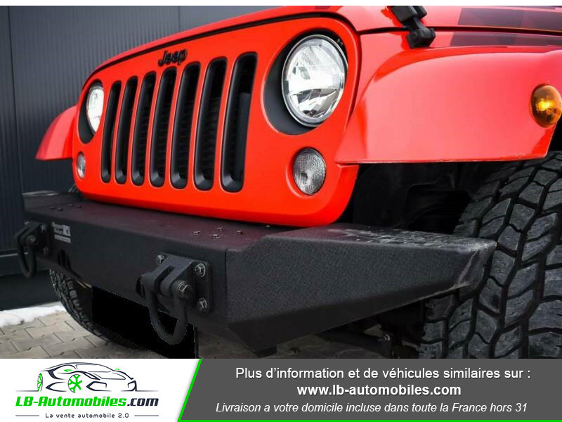 Jeep Wrangler 2.8 CRD Rouge occasion à Beaupuy - photo n°5