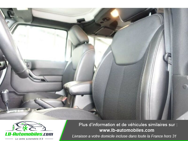 Jeep Wrangler 2.8 CRD Argent occasion à Beaupuy - photo n°9