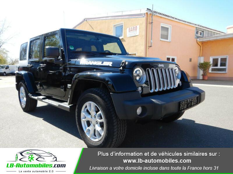 Jeep Wrangler 2.8 CRD Noir occasion à Beaupuy - photo n°6