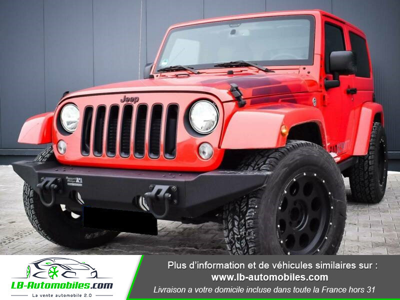 Jeep Wrangler 2.8 CRD Rouge occasion à Beaupuy