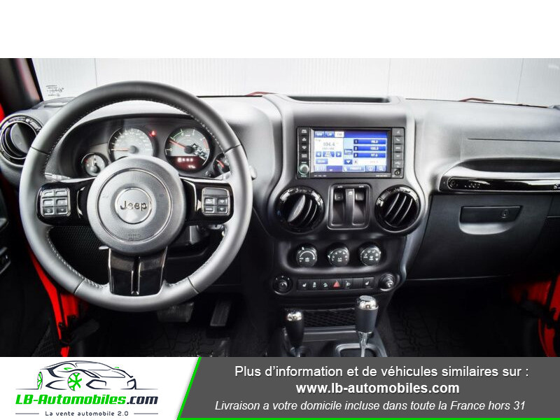 Jeep Wrangler 2.8 CRD Rouge occasion à Beaupuy - photo n°2