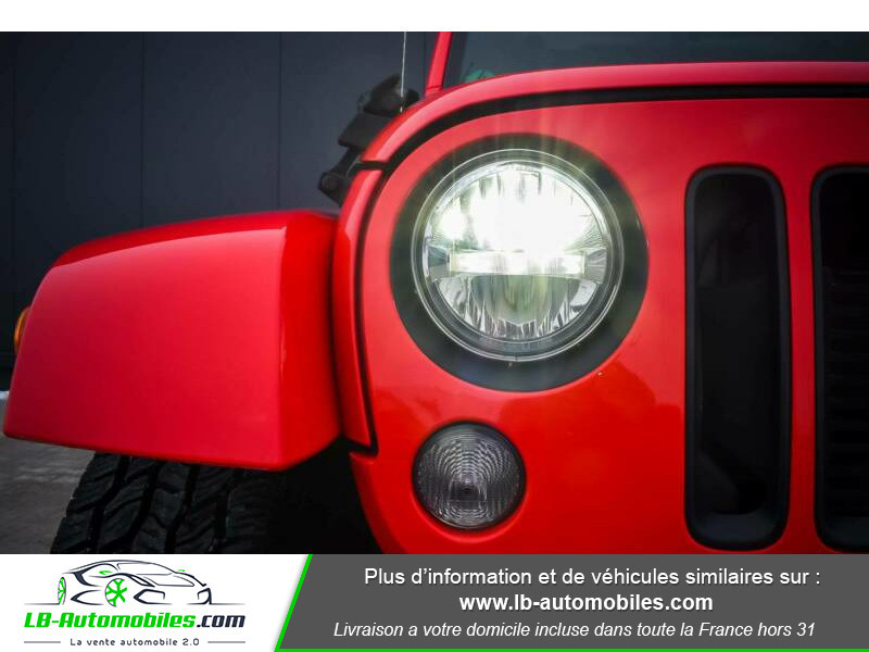 Jeep Wrangler 2.8 CRD Rouge occasion à Beaupuy - photo n°6