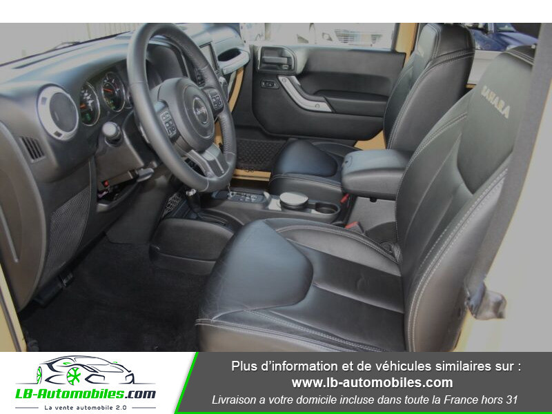 Jeep Wrangler 2.8 CRD Beige occasion à Beaupuy - photo n°8