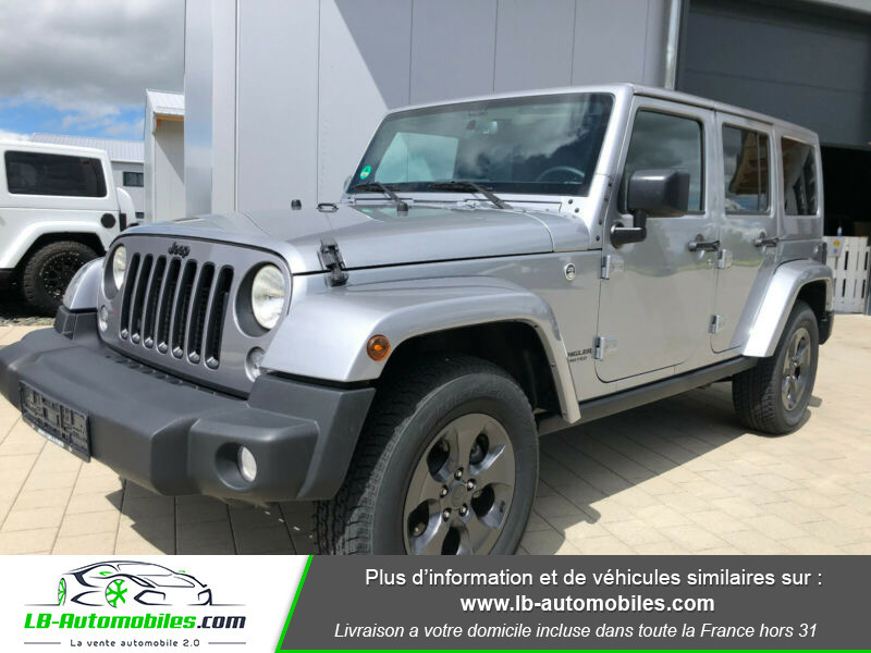 Jeep Wrangler 2.8 CRD Argent occasion à Beaupuy - photo n°5