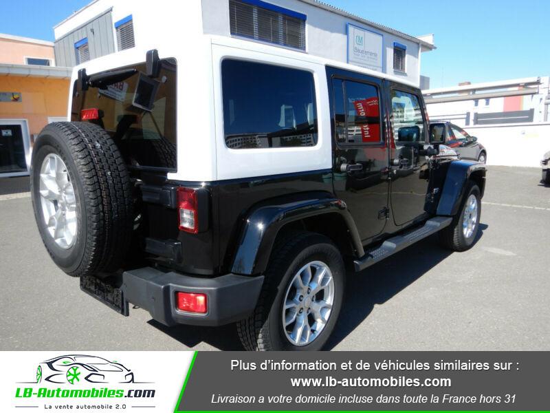 Jeep Wrangler 2.8 CRD Noir occasion à Beaupuy - photo n°8