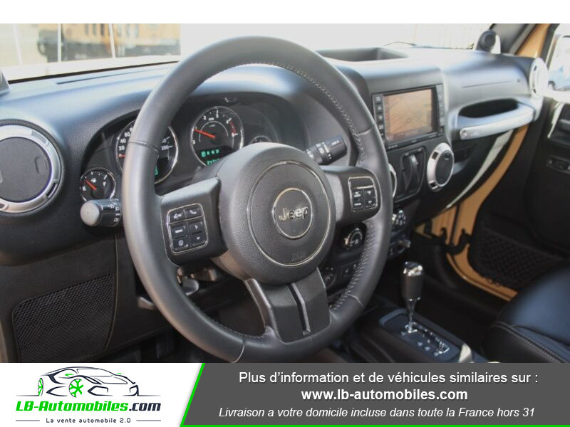 Jeep Wrangler 2.8 CRD Beige occasion à Beaupuy - photo n°10