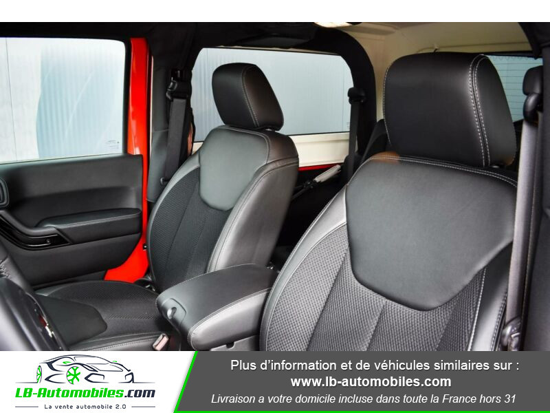 Jeep Wrangler 2.8 CRD Rouge occasion à Beaupuy - photo n°9