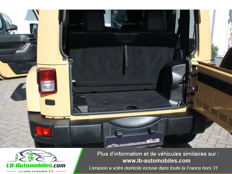 Jeep Wrangler 2.8 CRD Beige occasion à Beaupuy - photo n°5