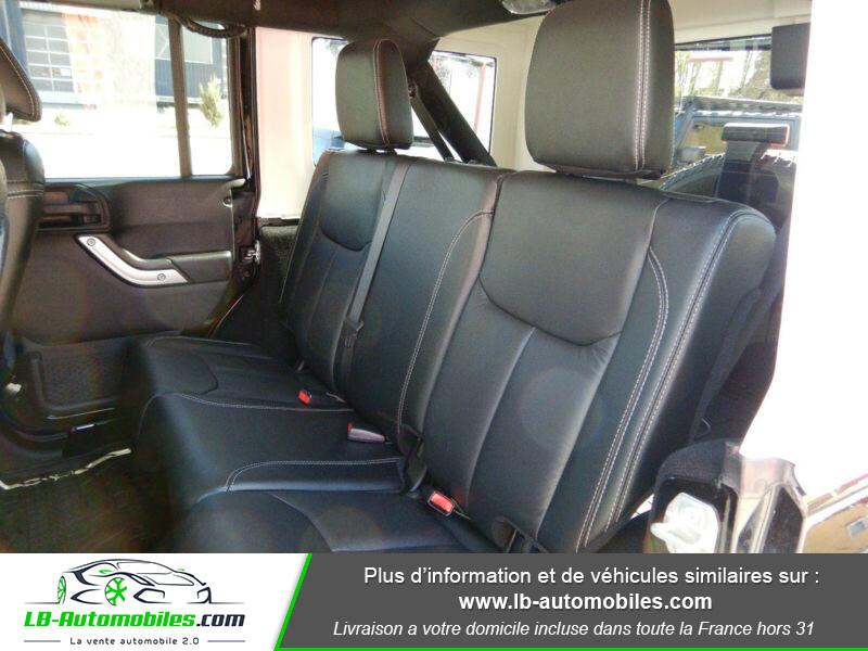 Jeep Wrangler 2.8 CRD Noir occasion à Beaupuy - photo n°15