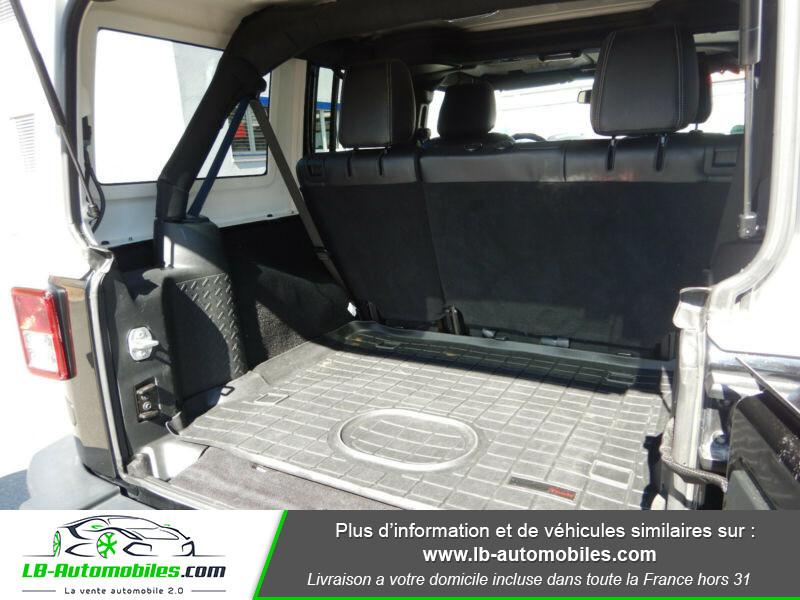 Jeep Wrangler 2.8 CRD Noir occasion à Beaupuy - photo n°10