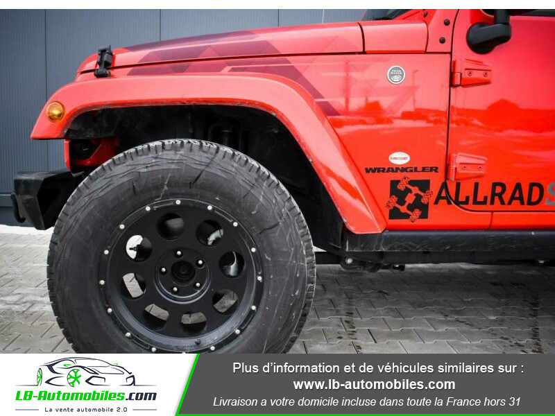 Jeep Wrangler 2.8 CRD Rouge occasion à Beaupuy - photo n°7