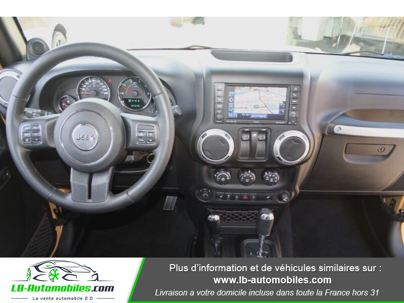 Jeep Wrangler 2.8 CRD Beige occasion à Beaupuy - photo n°2