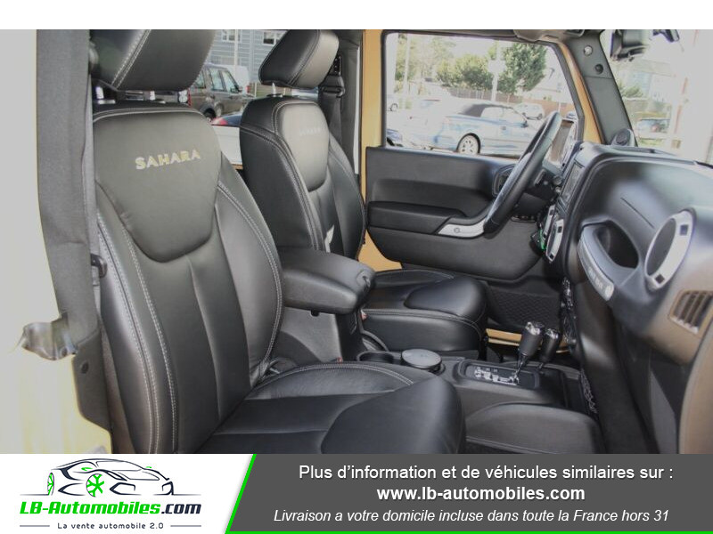 Jeep Wrangler 2.8 CRD Beige occasion à Beaupuy - photo n°6