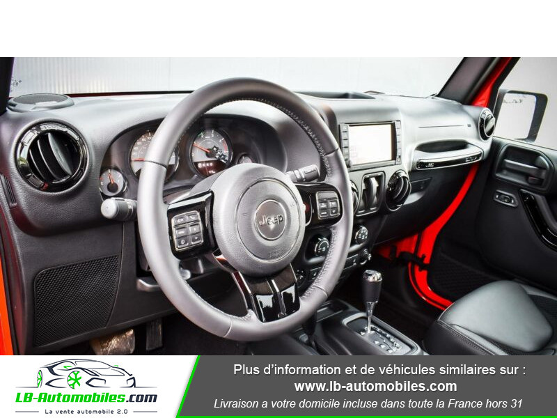 Jeep Wrangler 2.8 CRD Rouge occasion à Beaupuy - photo n°10