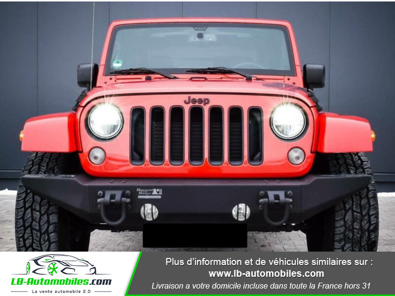 Jeep Wrangler 2.8 CRD Rouge occasion à Beaupuy - photo n°4