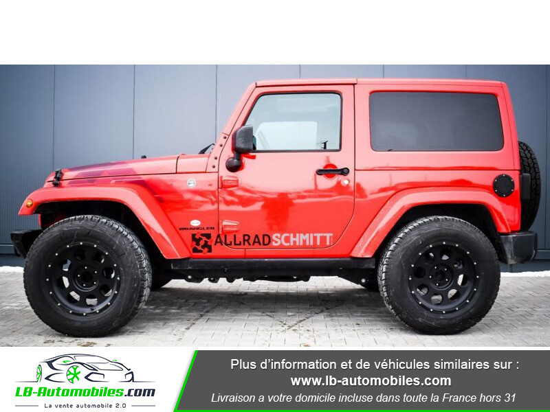 Jeep Wrangler 2.8 CRD Rouge occasion à Beaupuy - photo n°3