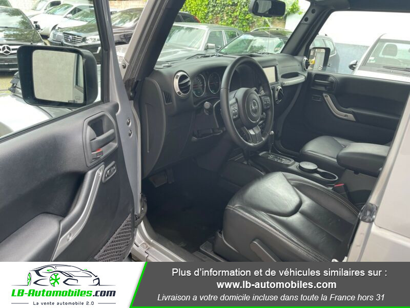 Jeep Wrangler 2.8 CRD Argent occasion à Beaupuy - photo n°11