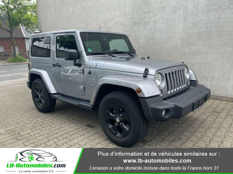 Jeep Wrangler 2.8 CRD Argent occasion à Beaupuy