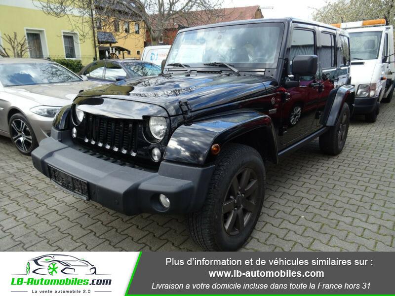 Jeep Wrangler 2.8 CRD Noir occasion à Beaupuy