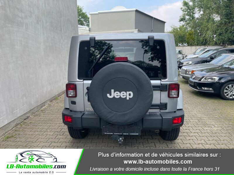 Jeep Wrangler 2.8 CRD Argent occasion à Beaupuy - photo n°7