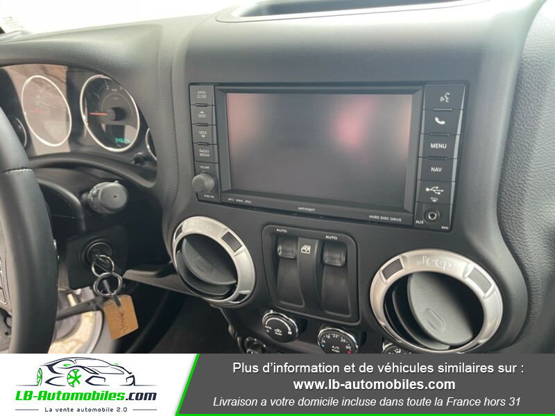 Jeep Wrangler 2.8 CRD Argent occasion à Beaupuy - photo n°12