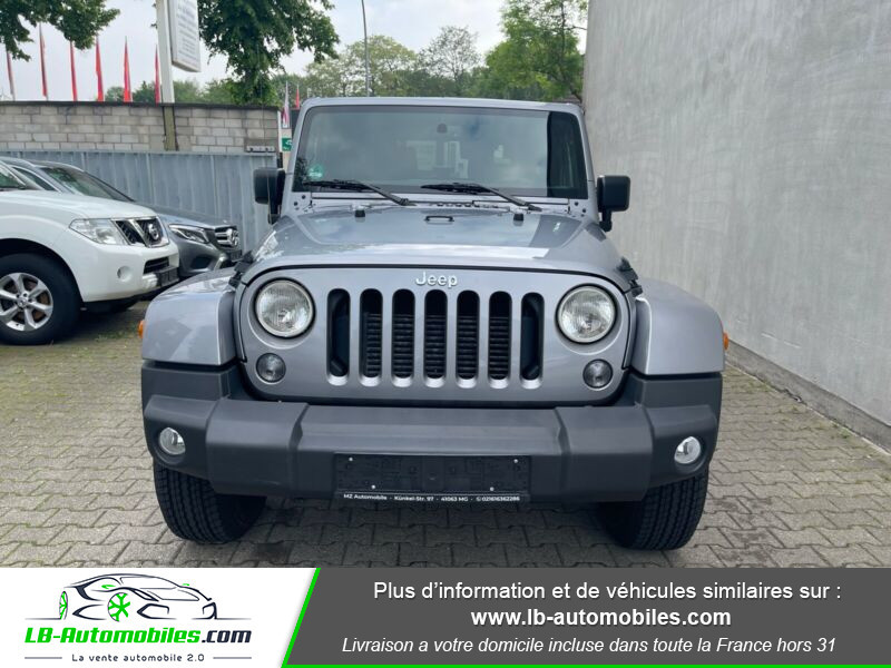 Jeep Wrangler 2.8 CRD Argent occasion à Beaupuy - photo n°4