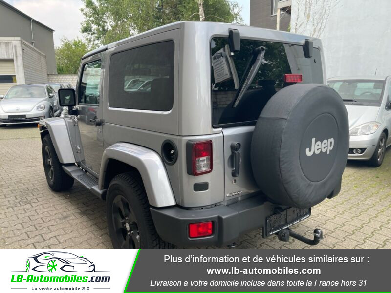 Jeep Wrangler 2.8 CRD Argent occasion à Beaupuy - photo n°6