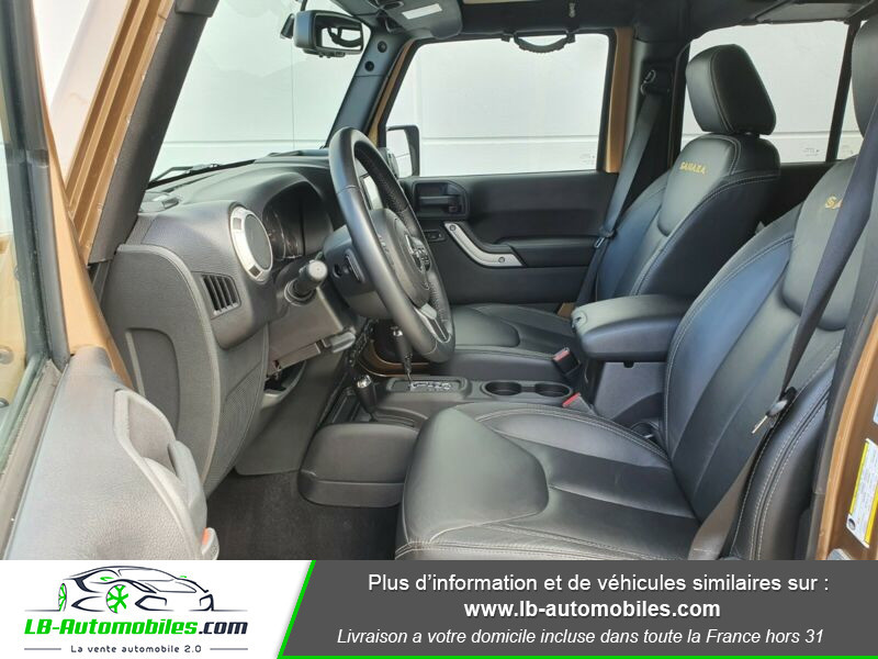 Jeep Wrangler 2.8 CRD Marron occasion à Beaupuy - photo n°11