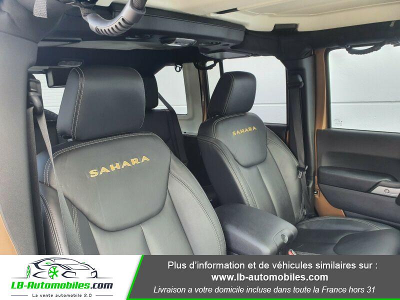 Jeep Wrangler 2.8 CRD Marron occasion à Beaupuy - photo n°10