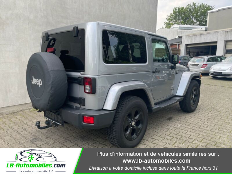Jeep Wrangler 2.8 CRD Argent occasion à Beaupuy - photo n°3